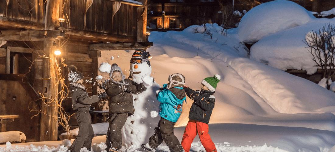 Kid club hiver les Fermes de Marie