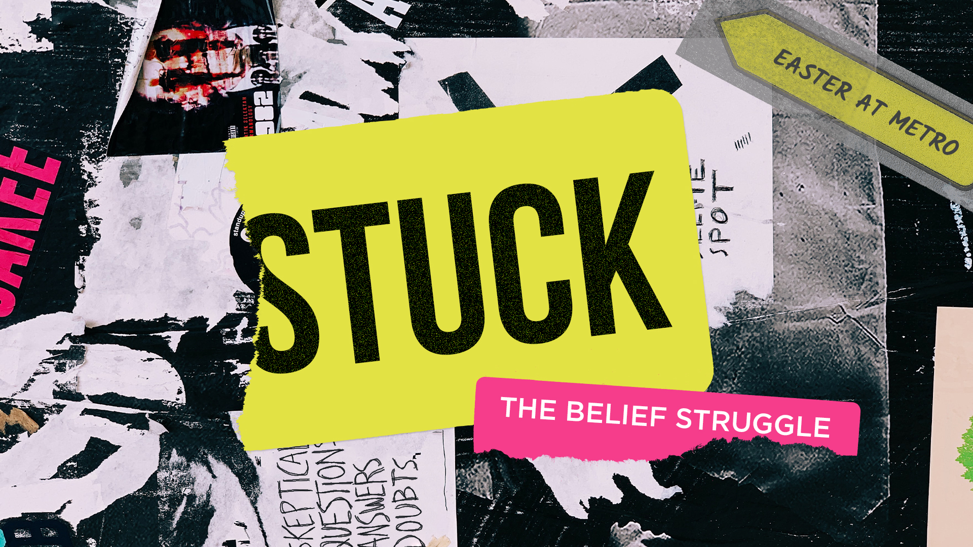 Stuck Sermon Series