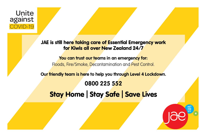 COVID-19 JAE Essential Services