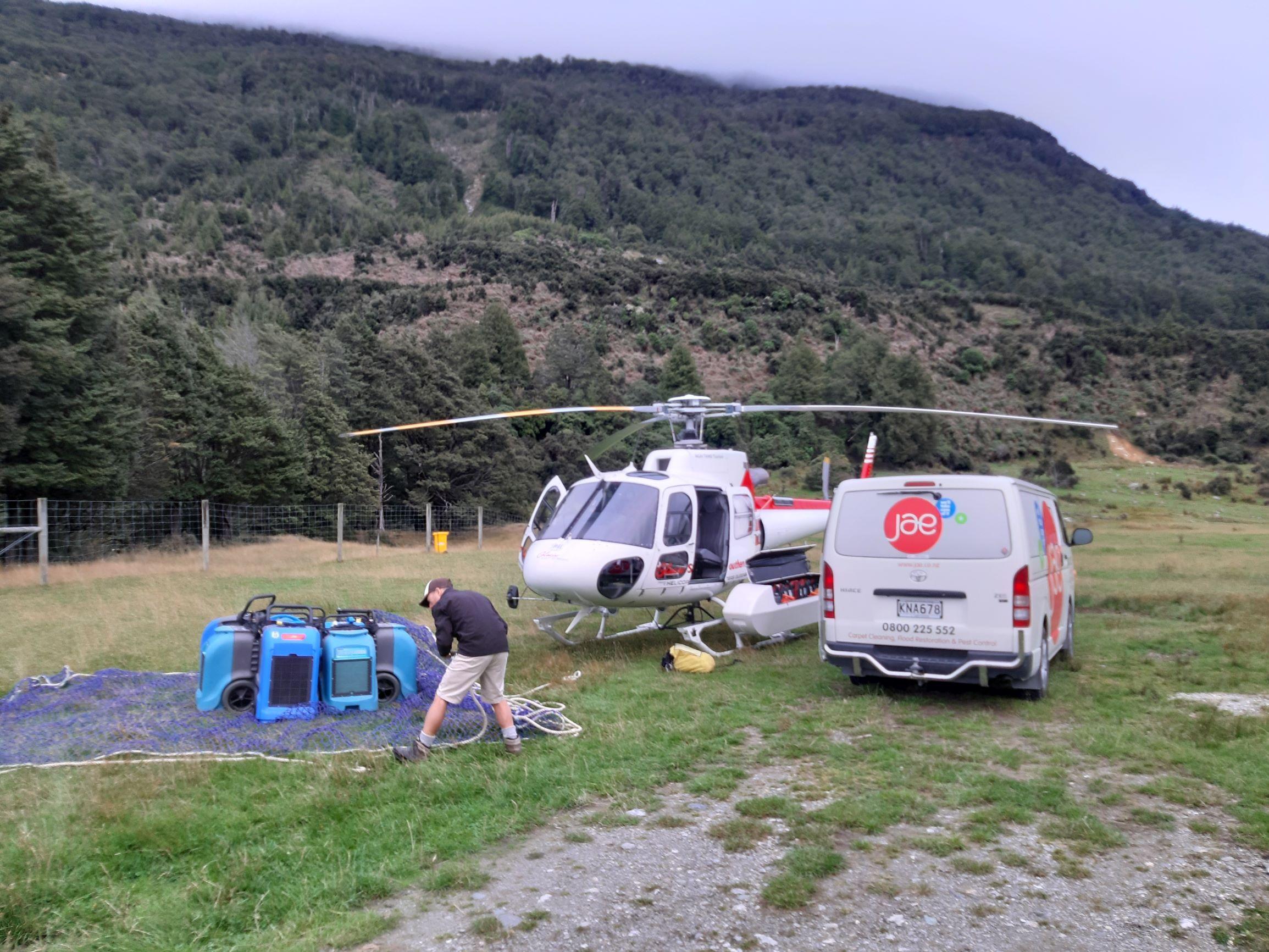 Restoration of River Flood Damage in NZ
