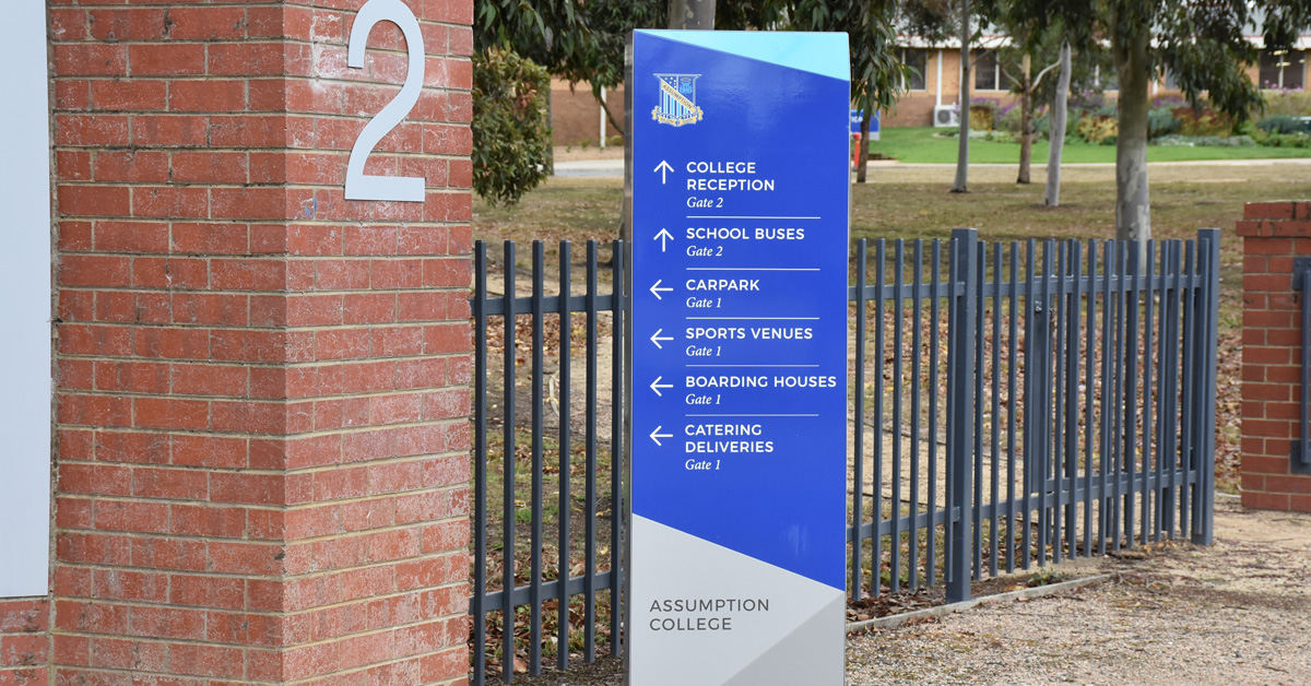 Using wayfaring signage to help people navigate your premises and your brand