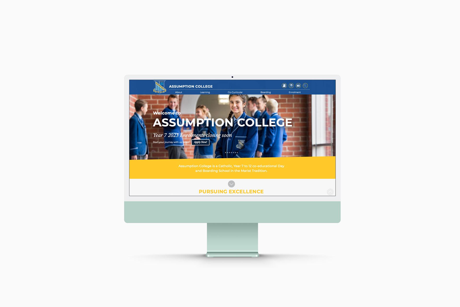 Assumption College Website and Digital
