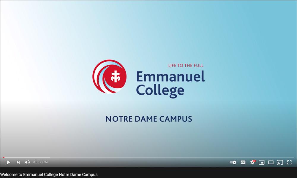 Emmanuel College Promotional Videos