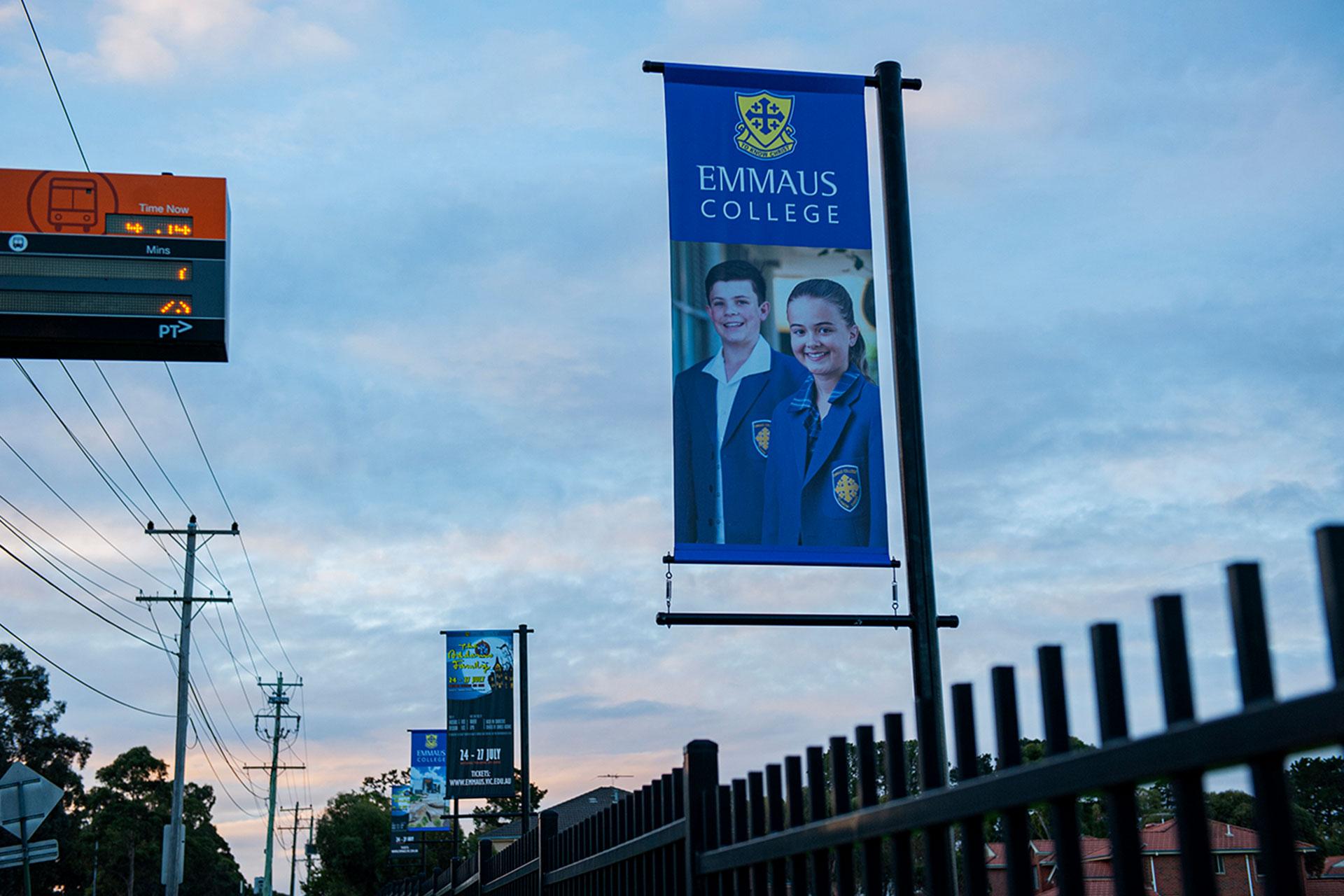 Emmaus External Signage