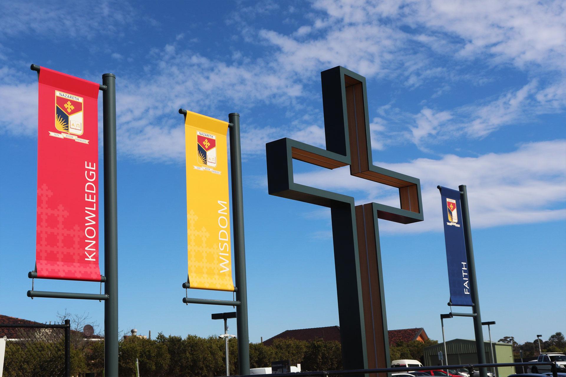 Nazareth External Signage
