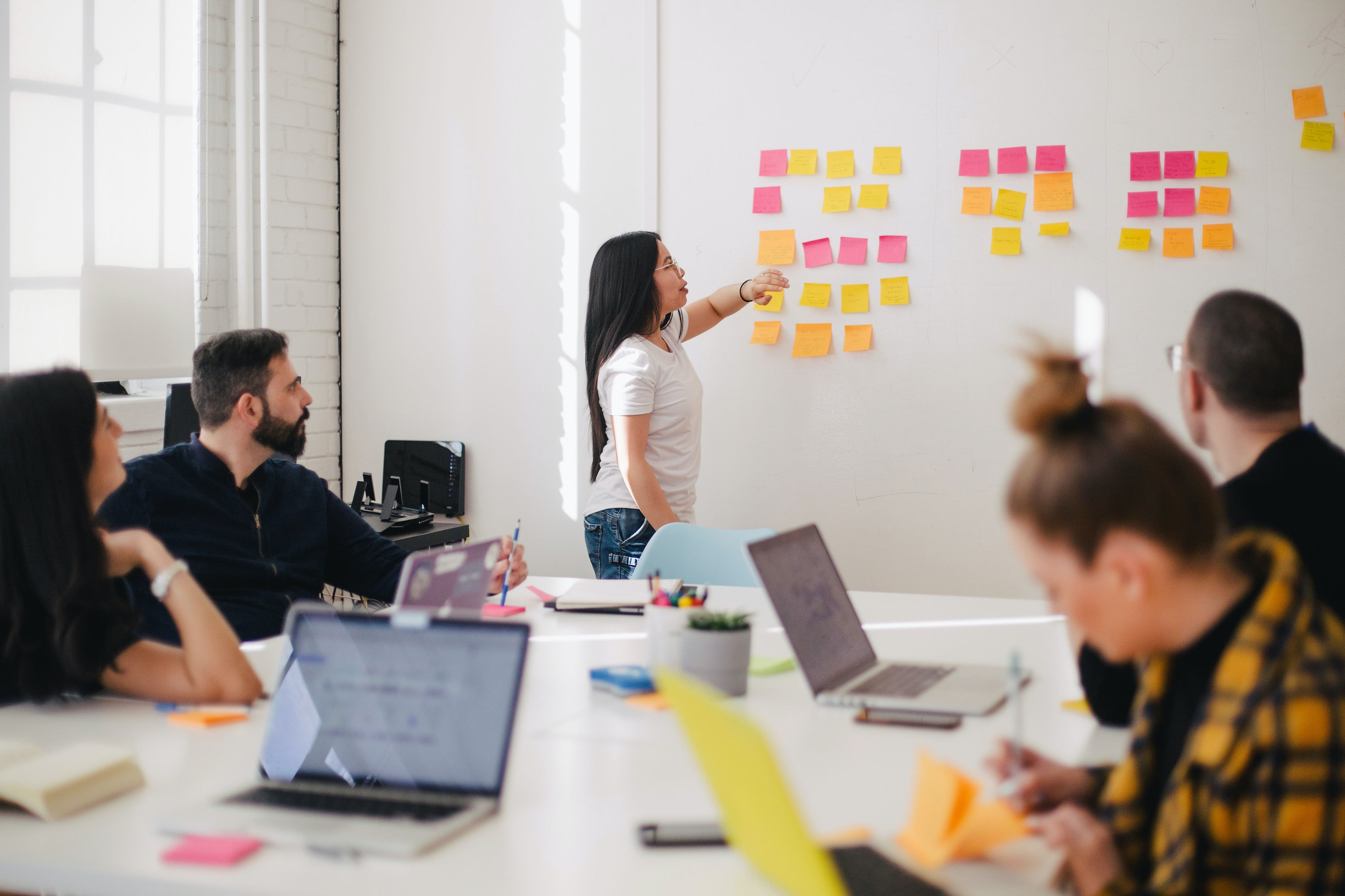 From post-it notes to innovation lab