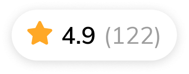 Average experience rating of 4.6 based on 134 submissions