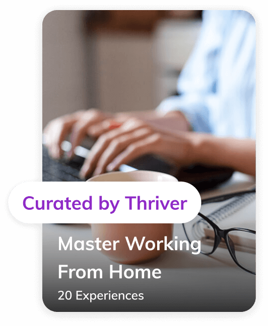 Master working from home collection curated by Thriver
