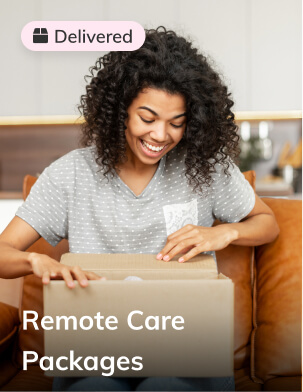 Remote care packages