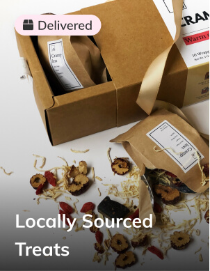 Locally sourced treats