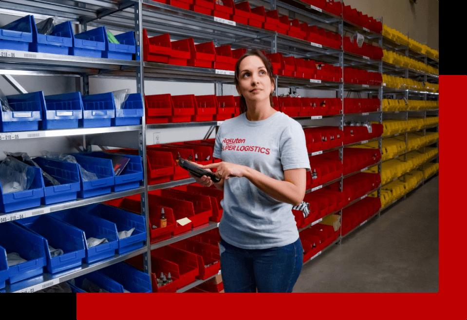 RSL eCommerce Fulfillment Warehouse worker