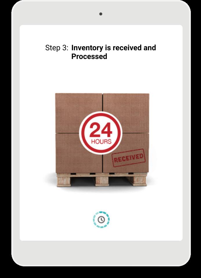 Step 3 Receive Inventory - SmartFill