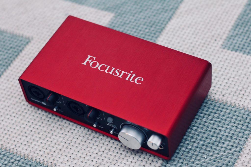 Scarlett Focusrite audio interface