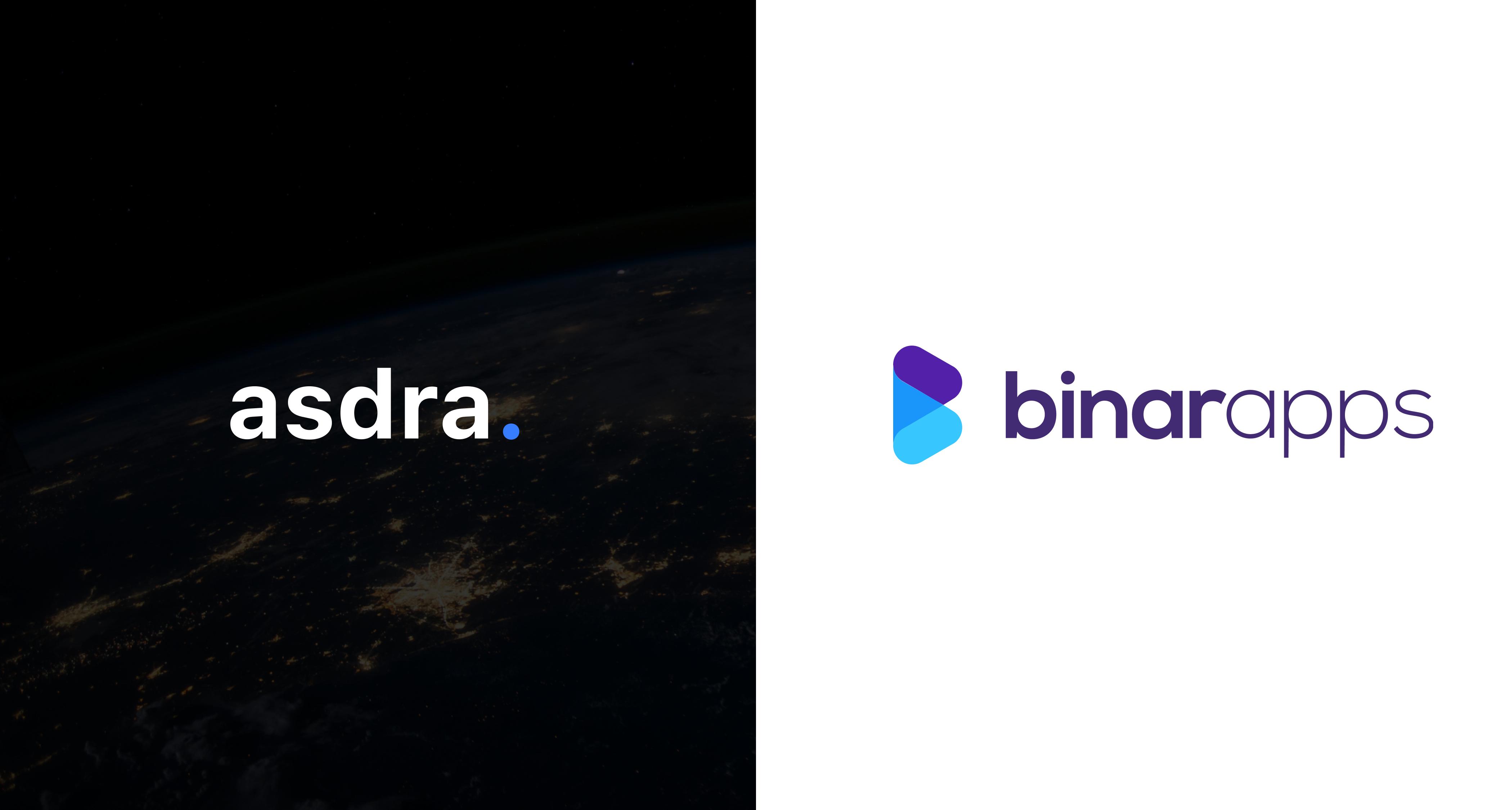 Asdra announces its collaboration with BinarApps an IOHK strategic partner