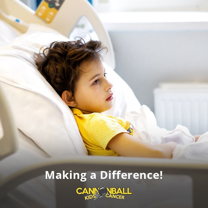 peer to peer fundraising: Cannonball Kids Pediatric Cancer Run by Givebutter