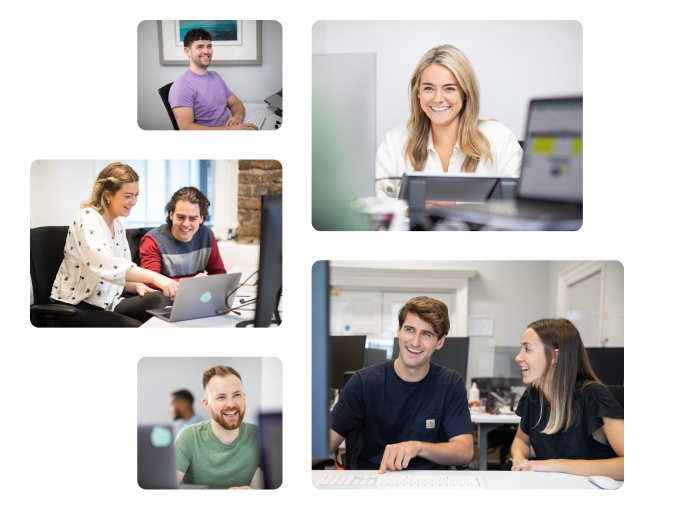 An image of people working at Wayflyer -accelerate your career at Wayflyer