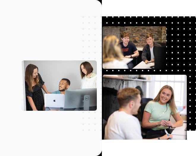 Wayflyer are hiring - an image of people working at Wayflyer