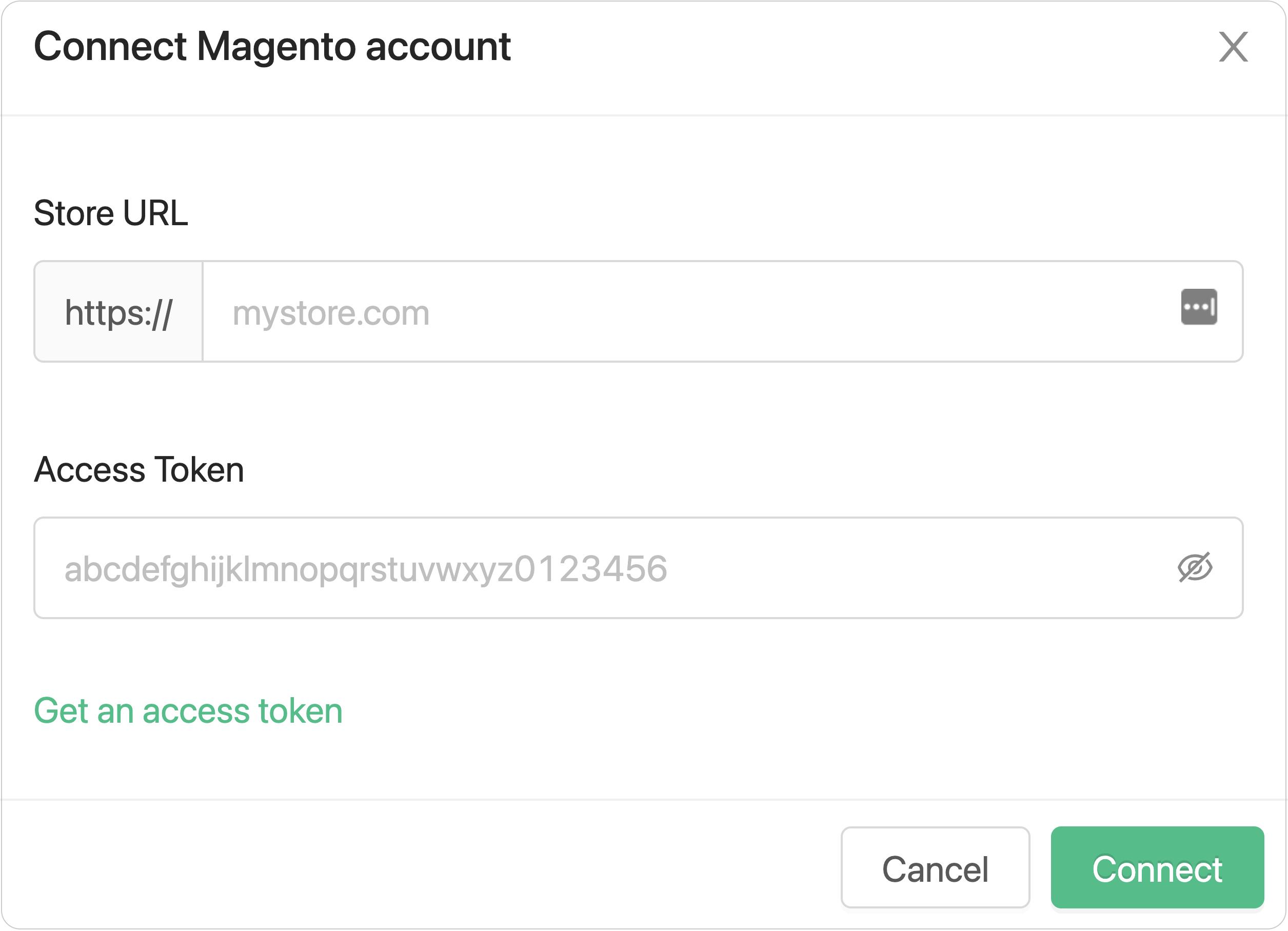 Connect Magento Account to Wayflyer