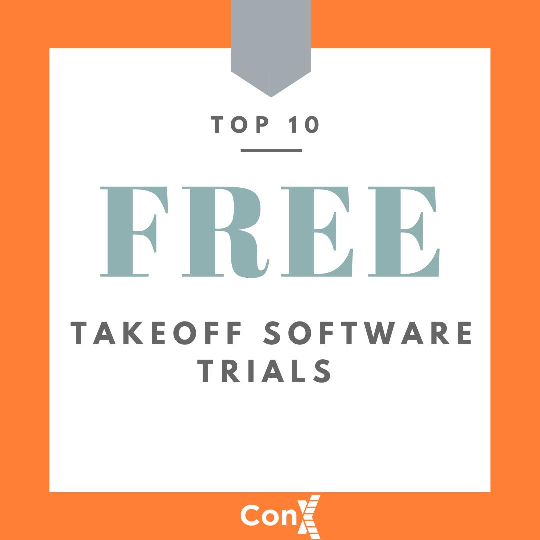 Free Takeoff Software Trials