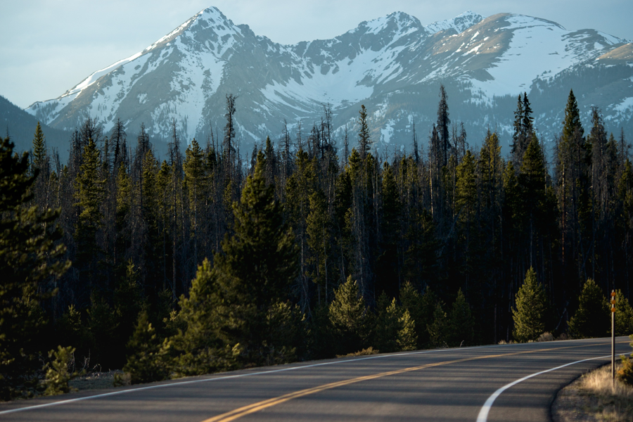 Pacific northwest road