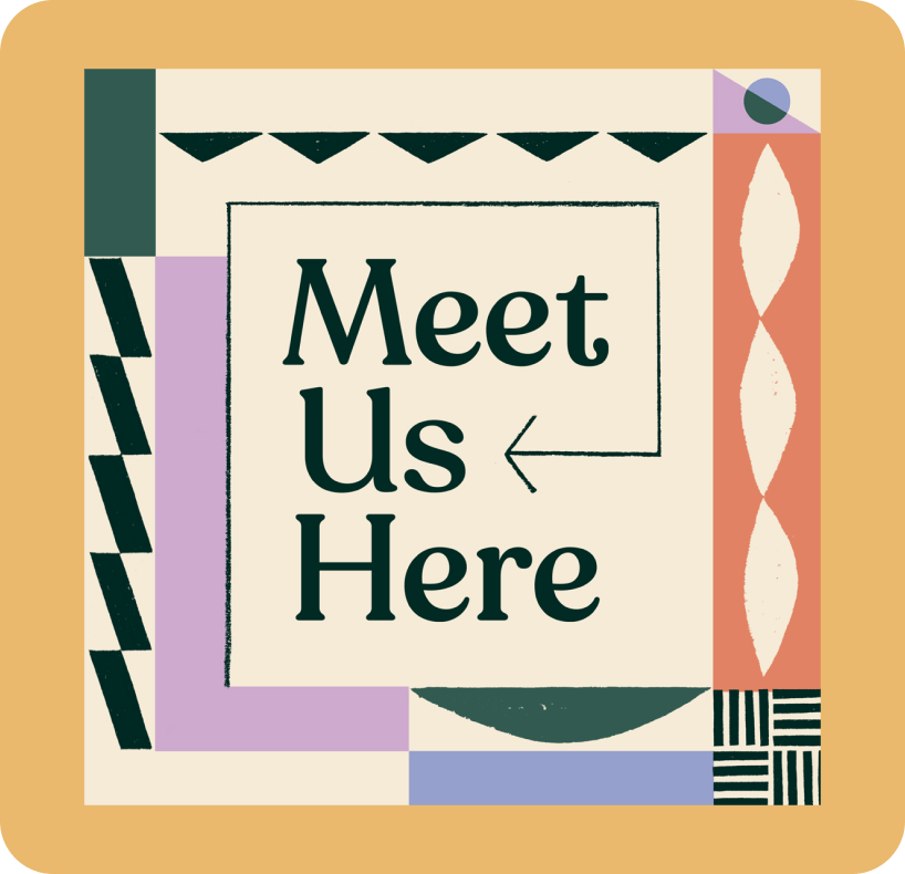 Meet us Here podcast cover