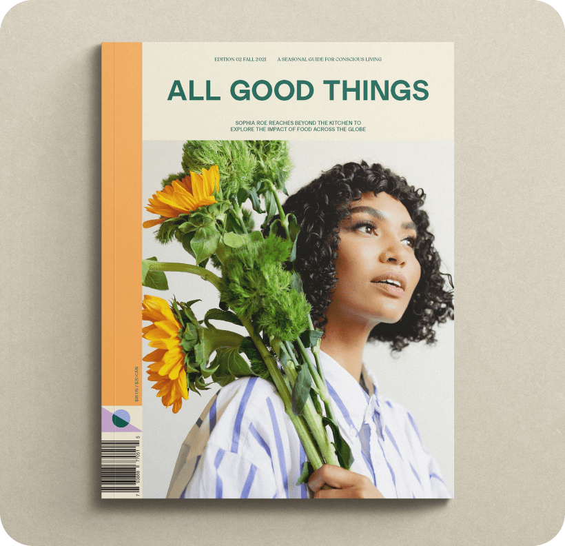 All Good Things magazine cover