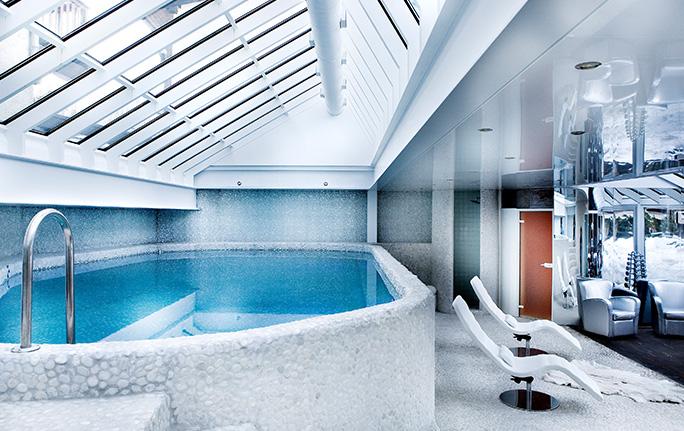 Hôtel avec Spa et piscine - Centre Megève