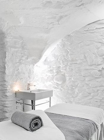 Cabine de massage - Spa Pure Altittude - Hotel Mont-Blanc Megève