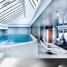 Piscine Intérieure - Spa Hôtel Mont-Blanc Megève
