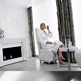 Salle de relaxation - Spa Hôtel Mont-Blanc Megève