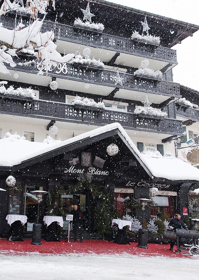 Hôtel - Hôtel Mont-Blanc Megève