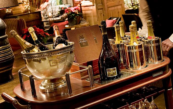 Bar à Champagne Megève