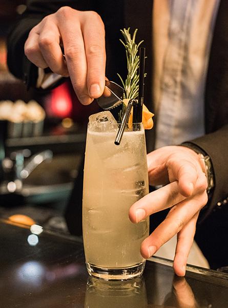 Cocktails - Le Georges - Bar à Champagne Megève