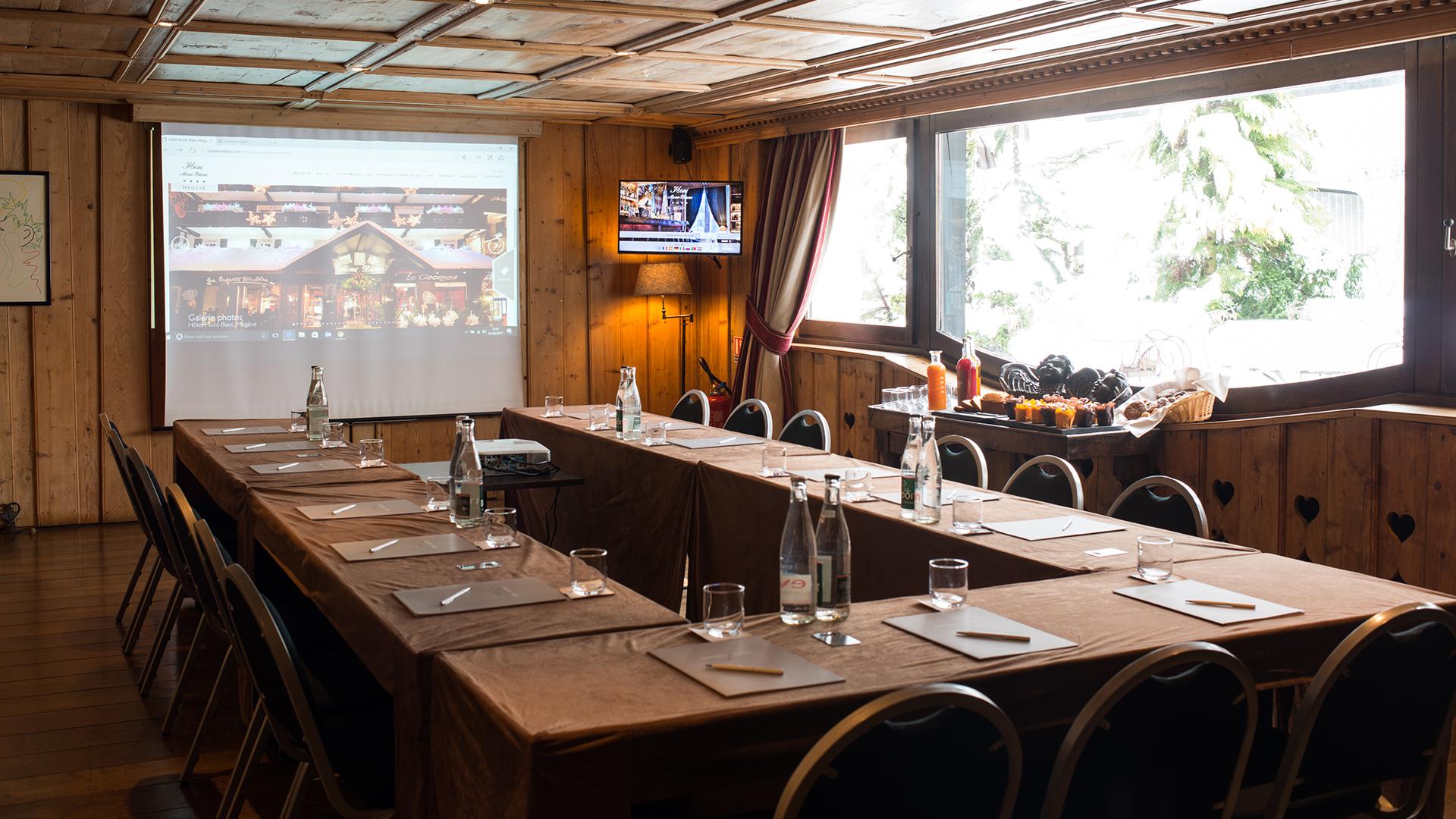 Séminaires et Incentives - Hôtel Mont-Blanc Megève