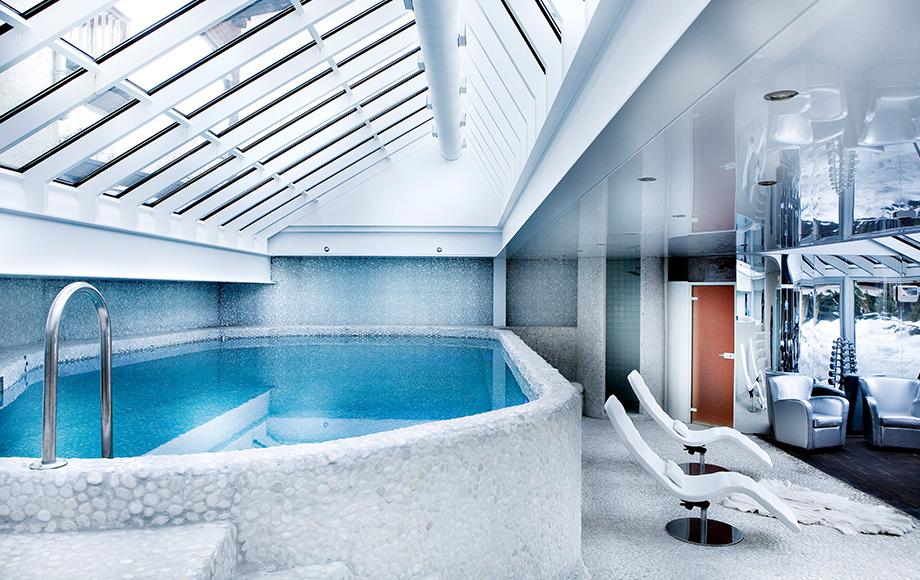Spa Hôtel Mont-Blanc - Piscine intérieure