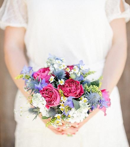 Bouquet - Mariage - Megève