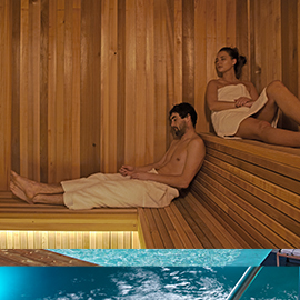 Sauna - Spa Pure Altitude