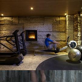 Salle de Fitness - Spa Pure Altitude
