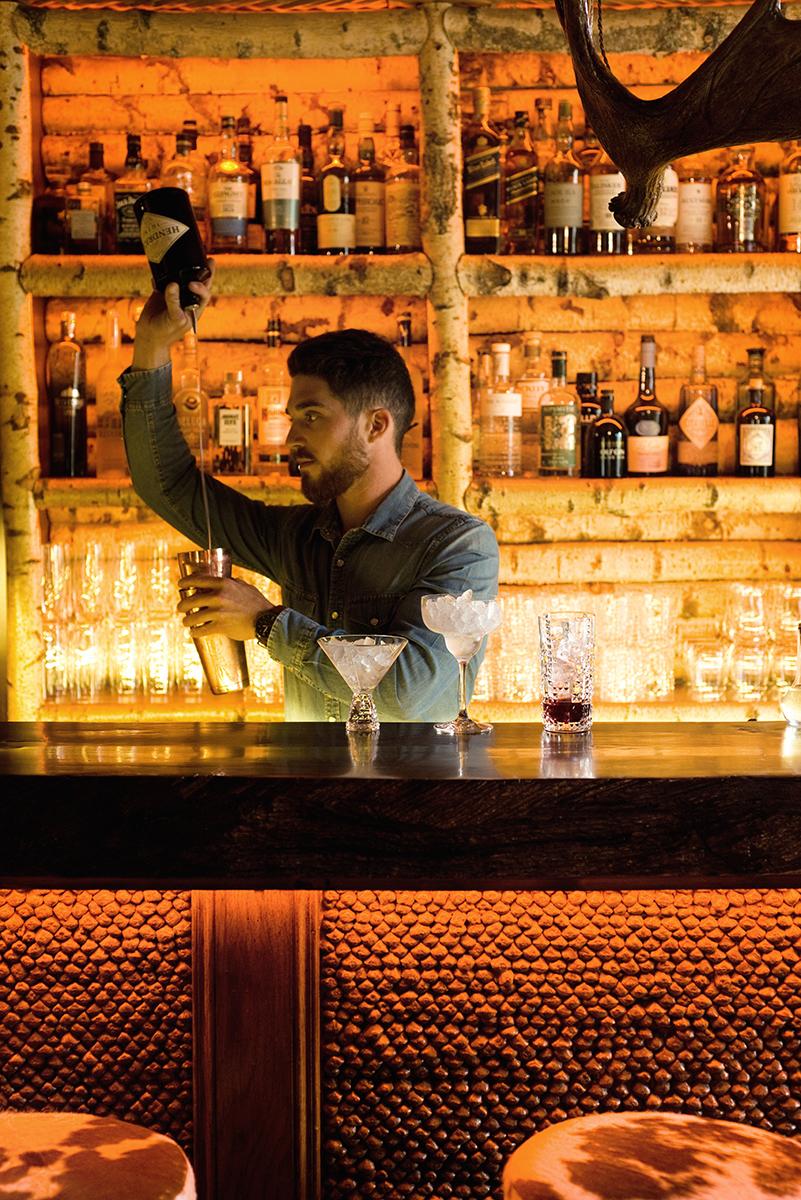 Bar du Lodge - Lodge Park - Megève