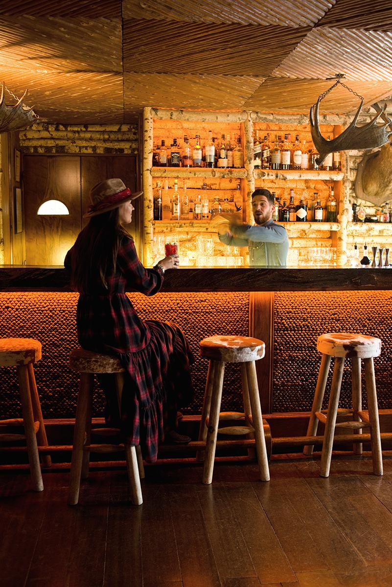 Bar du Lodge - Place to be - Cocktails et grignotages