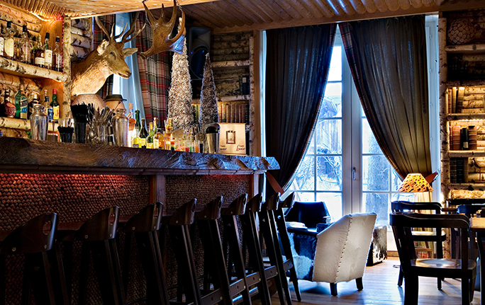 Bar du Lodge - Lodge Park Megève