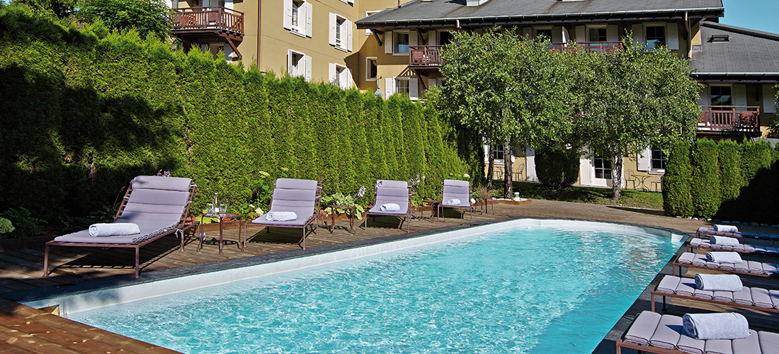 Hôtel avec piscine - Megève