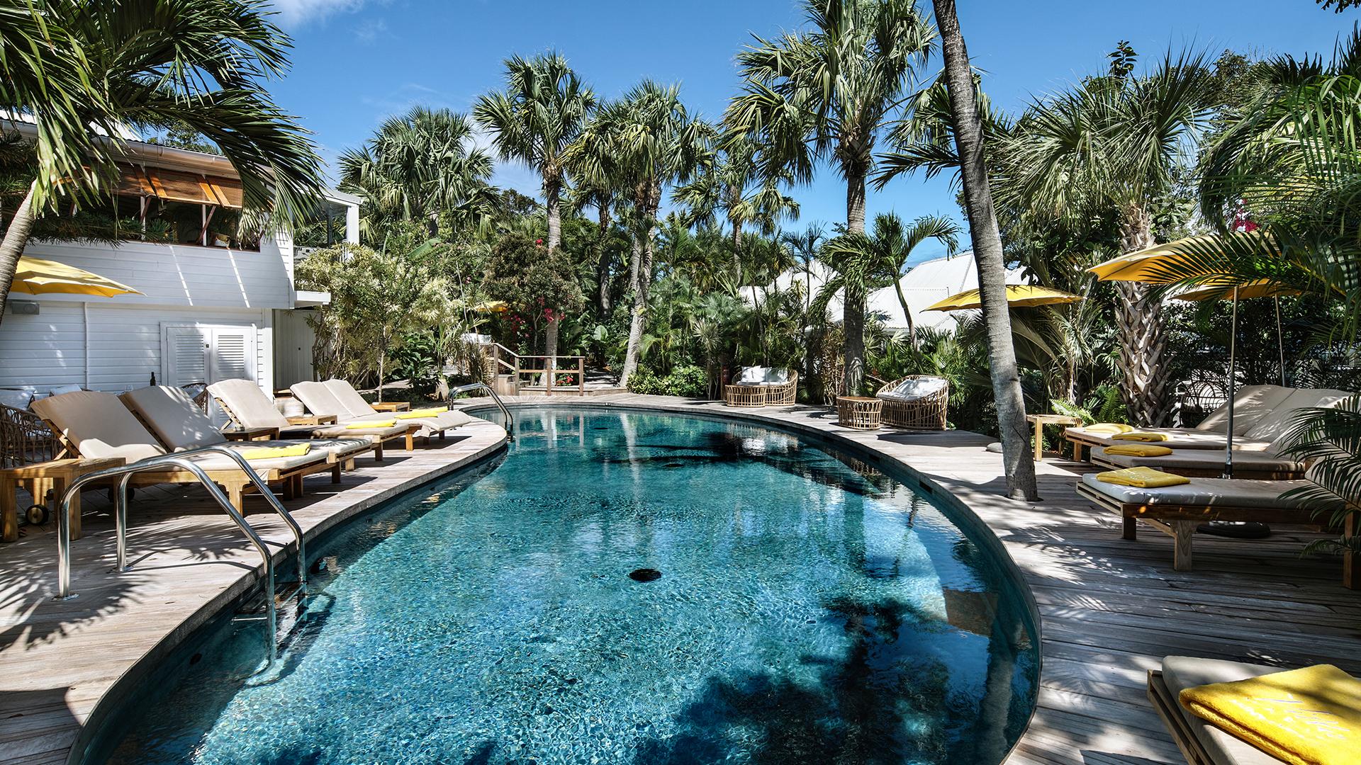 Hotel with pool - Villa Marie Saint-Barth