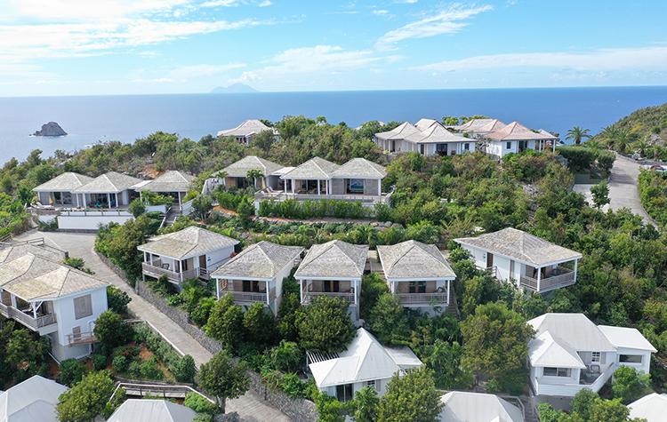 Paradis qui domine l'océan - Villa Marie Saint-Barth