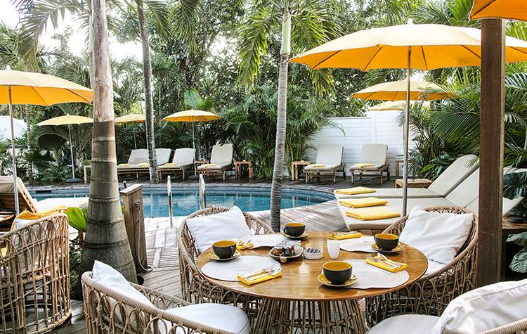 Wedding brunch by the pool - Villa Marie Saint-Barth