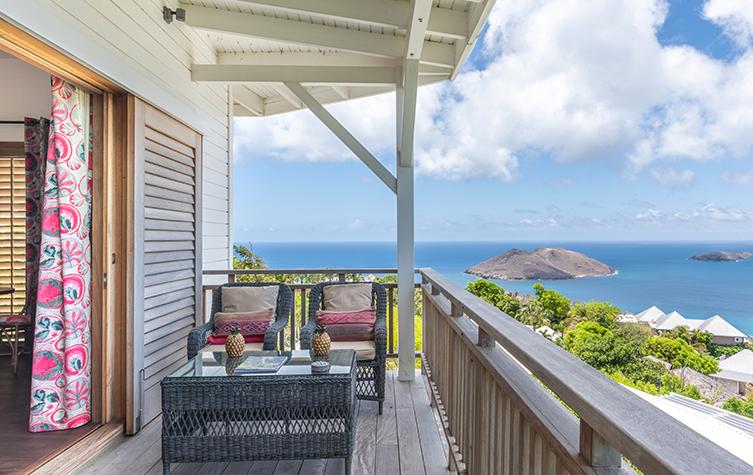 Villa privée avec terrasse vue océan - Villa Saline Jacuzzi - Villa Marie Saint-Barth