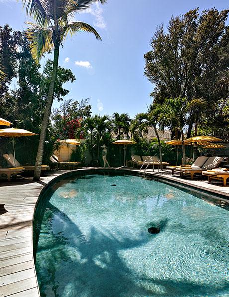 Day Spa Pure Altitude by the pool - Villa Marie Saint-Barth