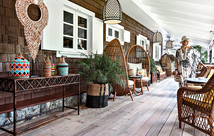 Varangue gypset style - Villa Marie Saint-Barth