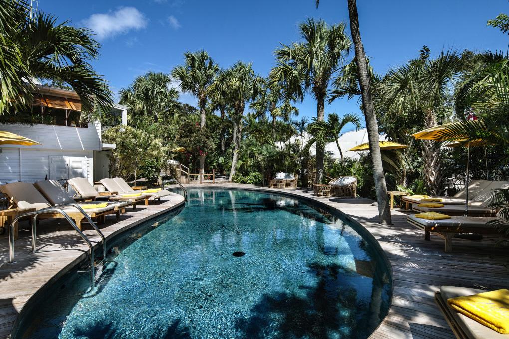 hôtel 5 étoiles avec piscine et spa Villa Marie St Barth