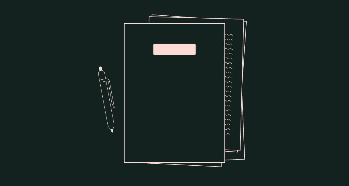 porte document et stylo - crédit bancaire